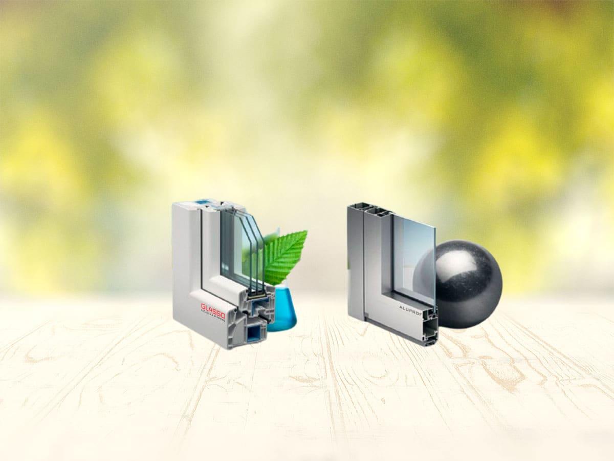 Чем отличаются алюминиевые окна от пластиковых
